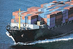 Import Export Coordination, Port to Train Container Truck