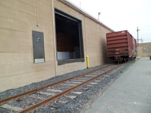 Rail Siding for Container Shipments, NJ