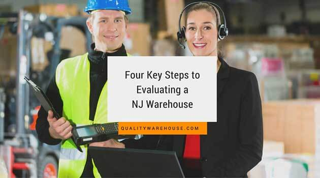 Four Key Steps to Evaluating a NJ Warehouse