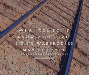 What You Don't Know About Rail Siding Warehouses May Hurt You
