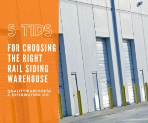 5 Tips For Choosing The Right Rail Siding Warehouse