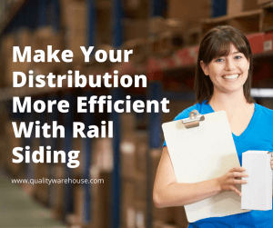 Make Your Distribution More Efficient With Rail Siding