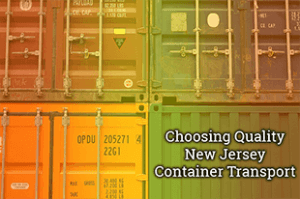 new jersey container transport